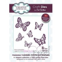 Dies - Sue Wilson - Finishing Touches - Petite Butterflies