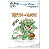Whimsy stamps - Dragon Costume - KHB 137