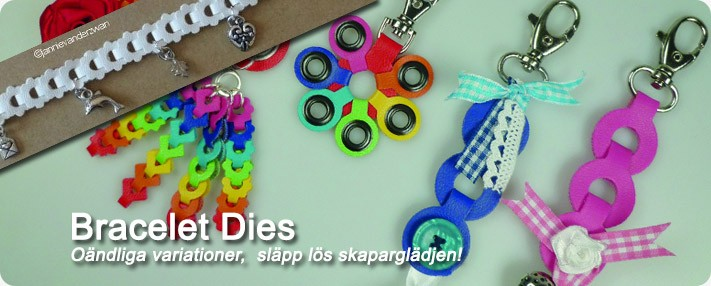 Create decorations in all shapes with these dies